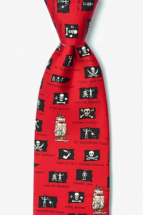 Pirate Flags Tie