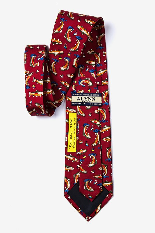 Rainbow Trout Red Tie Photo (1)