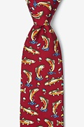 Rainbow Trout Red Tie Photo (0)