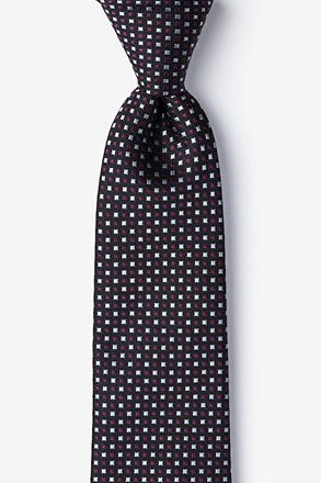 Salisbury Red Extra Long Tie