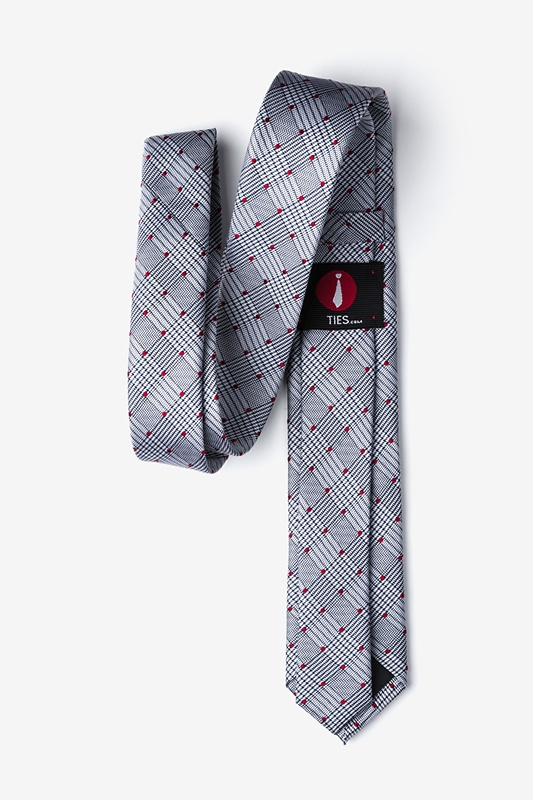 Sicily Red Skinny Tie Photo (1)