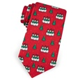 Singing Snowmen Boys Tie by Alynn Novelty