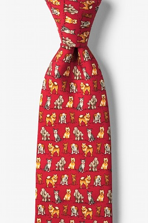 Small Dogs Go to Heaven Tie