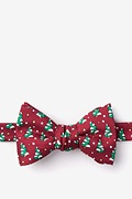 Red Silk Tree-mendous Bow Tie