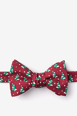 Tree-mendous Self-Tie Bow Tie