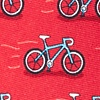 Red Silk Two Tire-d Tie