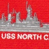 Red Silk U.S. Battleships Tie
