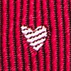 Red Silk Wherefore Heart Thou? Tie