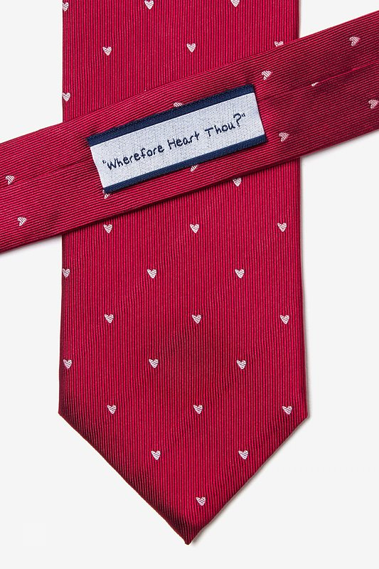 Wherefore Heart Thou? Tie