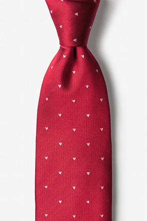 _Wherefore Heart Thou? Red Tie_