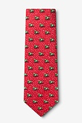 Yappy Howlidays Red Extra Long Tie Photo (1)