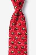 Yappy Howlidays Red Extra Long Tie Photo (0)