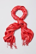 Rainbow Sparkle Red Scarf by Scarves.com