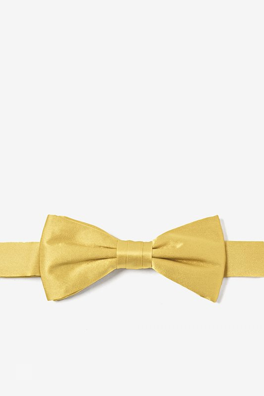 Rich Gold Bow Tie For Boys Photo (0)