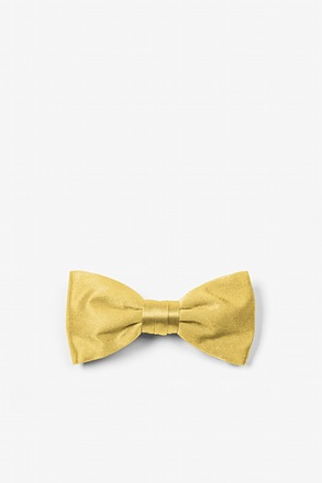 _Rich Gold Bow Tie For Infants_