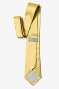 Rich Gold Extra Long Tie Photo (1)
