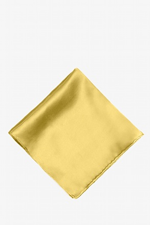Rich Gold Pocket Square