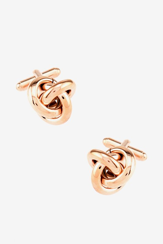 All Tangled Up Rose Gold Cufflinks Photo (0)