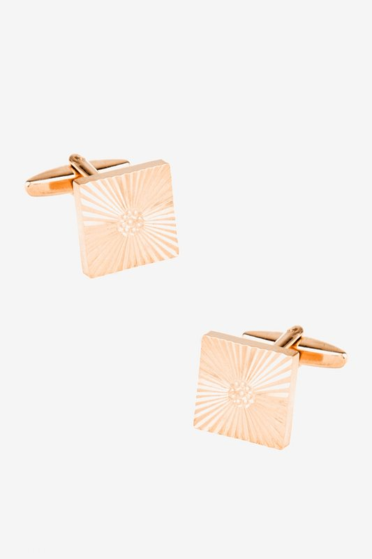 Beaming Dot Cufflinks