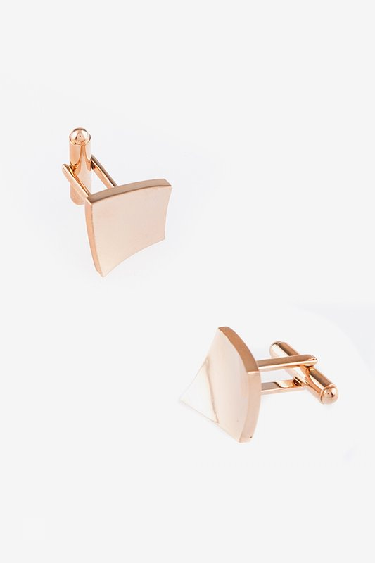 Curved Square Cufflinks Photo (0)