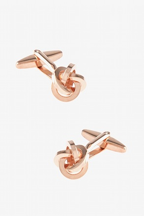 _Intricate Knot Cufflinks_