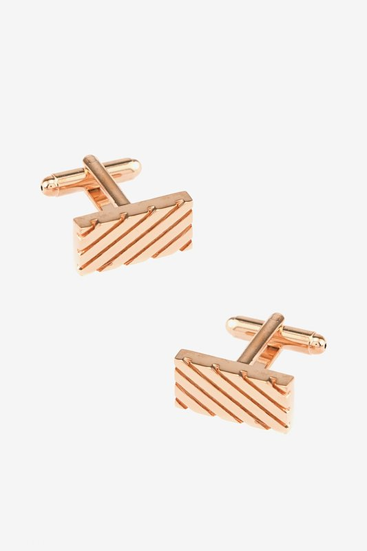 Rectangle Grooves Cufflinks Photo (0)