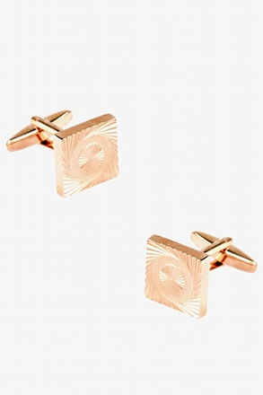 Square Vortex Cufflinks