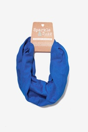 Royal Blue Polyester Basic Stretchy Headband