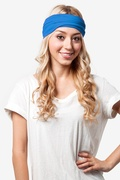 Basic Stretchy Royal Blue Headband Photo (0)