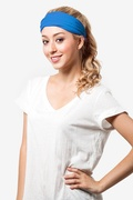 Basic Stretchy Royal Blue Headband Photo (4)