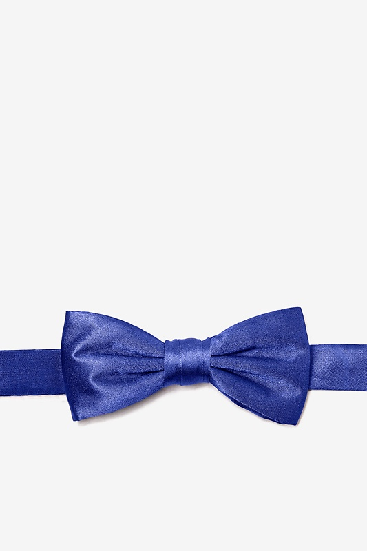 Royal Blue Bow Tie For Boys Photo (0)