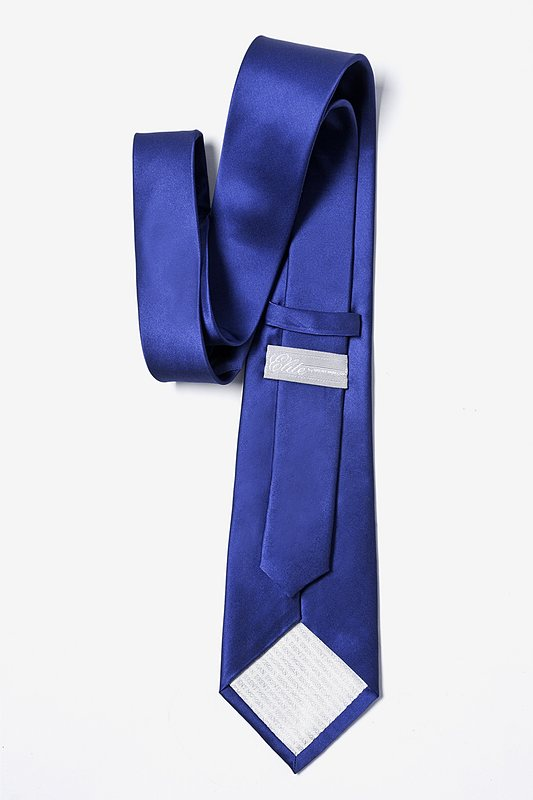 Royal Blue Extra Long Tie Photo (2)