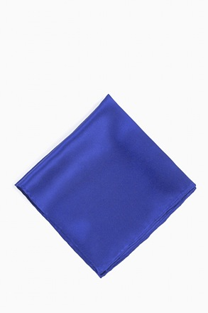 _Royal Blue Pocket Square_