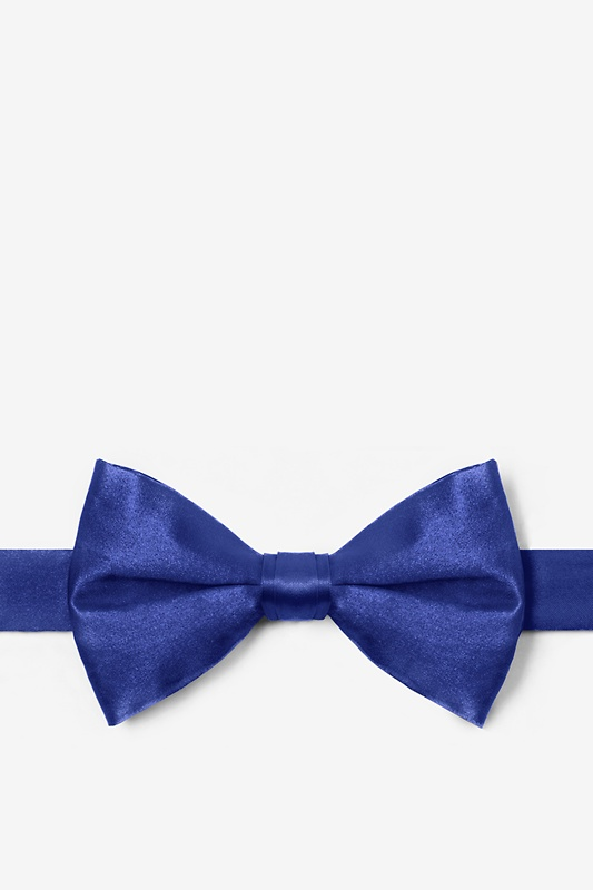 Royal Blue Pre-Tied Bow Tie Photo (0)