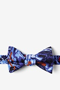 Royal Blue Silk WATERBORNE SIX Butterfly Bow Tie
