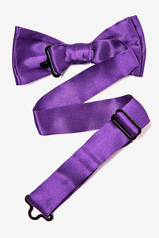 Royal Purple Bow Tie For Boys