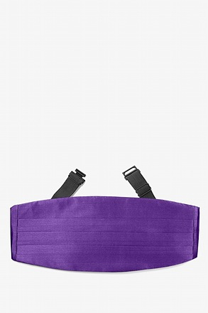 Royal Purple Cummerbund
