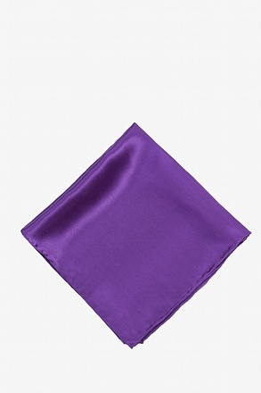 _Royal Purple Pocket Square_