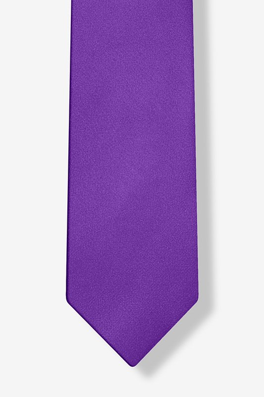 Royal Purple Tie For Boys Photo (3)