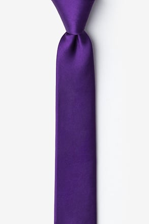 Royal Purple Tie For Boys