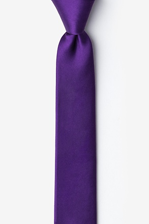 _Royal Purple Tie For Boys_
