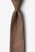 Rust Cotton Yuma Tie