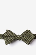Sage Cotton Holbrook Diamond Tip Bow Tie