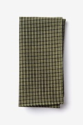 Sage Cotton Holbrook Pocket Square