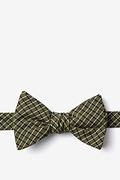 Sage Cotton Holbrook Self-Tie Bow Tie