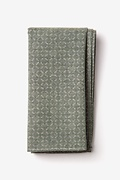 Sage Cotton Nixon Pocket Square