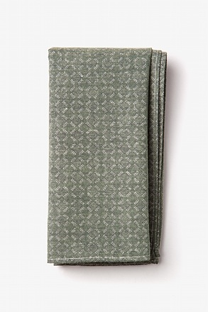 Nixon Sage Pocket Square