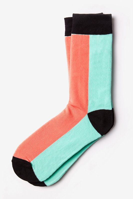 Fullerton Split Salmon Sock Photo (0)
