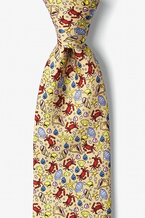 Crabs And Seashells Tie