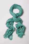 Safi Studded Seafoam Green Scarf by Scarves.com